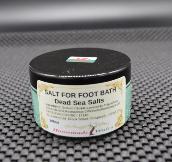Salt footbath