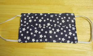 White Stars Adult Mask